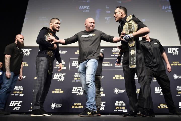 UFC 249 Khabib vs Ferguson: Press on ESPN+
