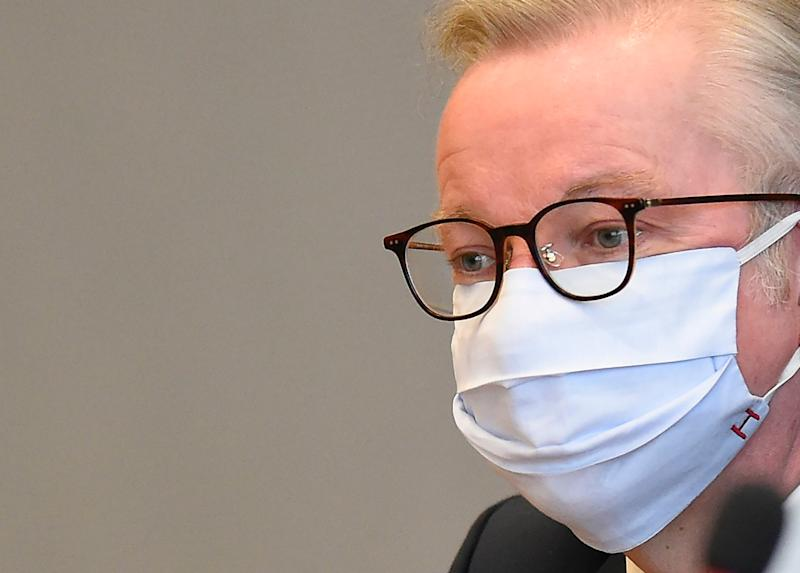 Michael Gove argued that the Internal Market Bill was a 'safety net' (AP)