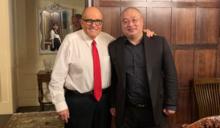 川普首度喊出「中國對美國放毒」 前紐約市長朱利安尼與郭文貴好友同框