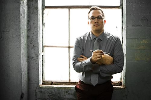 """This 2012 photo released by Ryan Truesdell shows a portrait of the composer-arranger. Truesdell is nominated for three Grammy Awards for his album, """"Centennial - Newly Discovered Works of Gil Evans."""" (AP Photo/Shaun Mader)"""