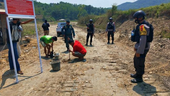 Rusak Hutan di Klapanunggal Bogor, 11 Tambang Galian C Ilegal Ditutup Paksa