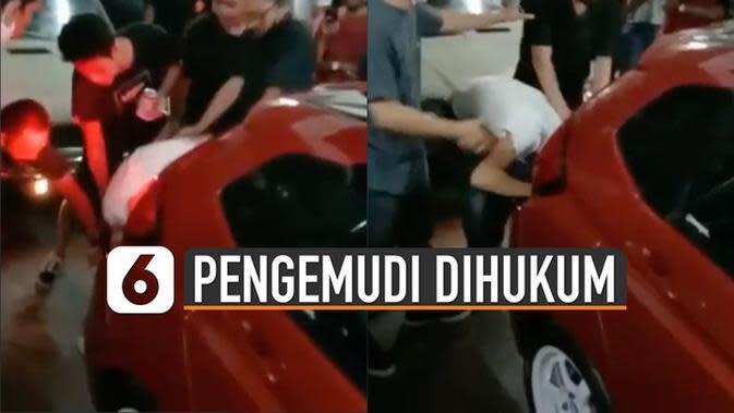 VIDEO: Geber Mobil di Mall, Pengemudi Dihukum Dengar Suara Bisingnya