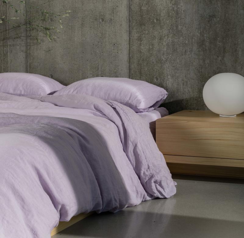 Linen Essential Set | 3 Pcs | Duvet Cover + Pillowcases. Image vis Sömn Home.