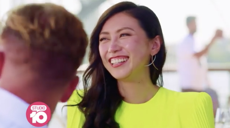 Jaxon Human seen enjoying a blind date with beauty queen, Emily Yu on Sydney's Crazy Rich Asians