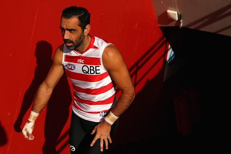 Retired AFL star Adam Goodes from the Sydney Swans was forced to retire in September 2015 after facing constant booing and racism. The final years of his career are depicted in Sydney Film Festival documentary, The Final Quarter.