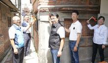 影/北港鎮安宮改善狹小巷道 古蹟安全性加強及美化