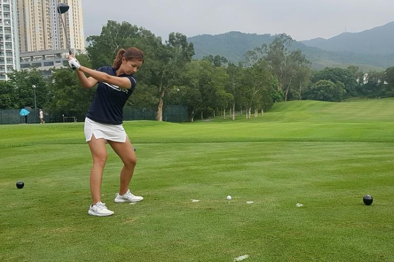 Hong Kong's Tiffany Chan is has been using golf's coronavirus hiatus to work on her game