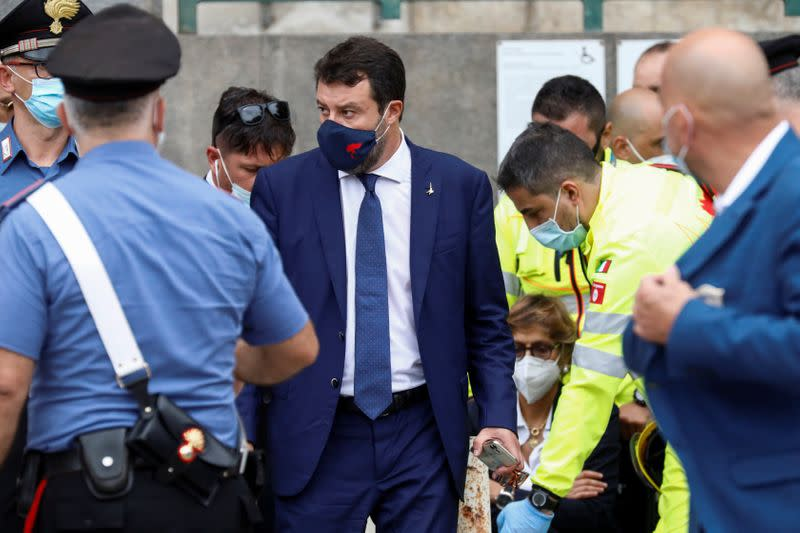 Italian judge orders Conte to testify in Salvini migrant case