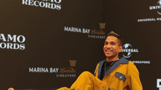 Yung Raja, rapper asal Singapura (https://www.instagram.com/p/CFUfqfYBjq2/)