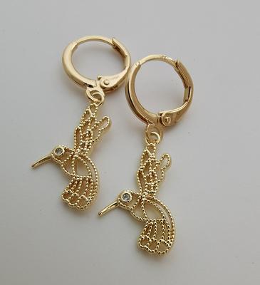 gold lollipop hoop earring endless hoops huggies dangle earring simple earrings everydaygift for her