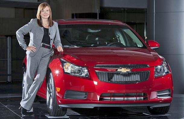 General Motors names Mary Barra as CEO, first woman to lead an automaker