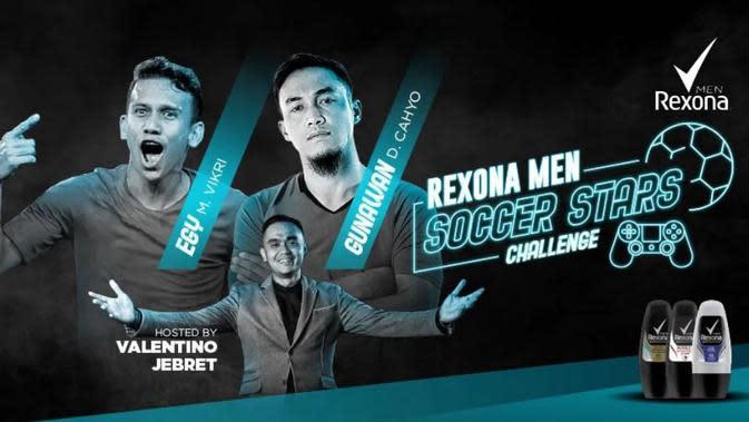 Rexona Men Soccer Stars Challenge: Pakai Chelsea, Egy Maulana Vikri Bantai Gunawan Dwi Cahyo