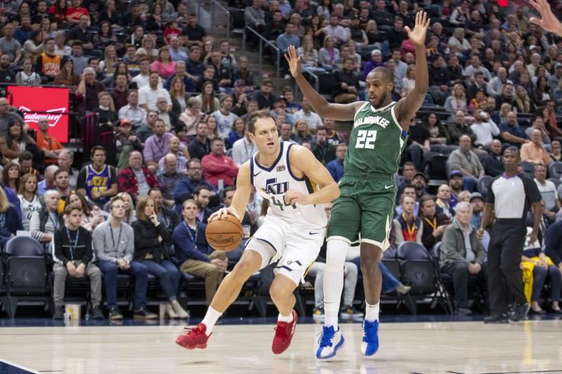 NBA roundup: Bogdanovic drops Bucks at buzzer