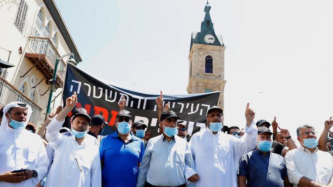 Israel Balas Roket Hamas dengan Serangan Udara di Jalur Gaza