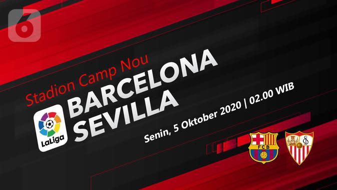 Barcelona vs Sevilla (Liputan6.com/Abdillah)