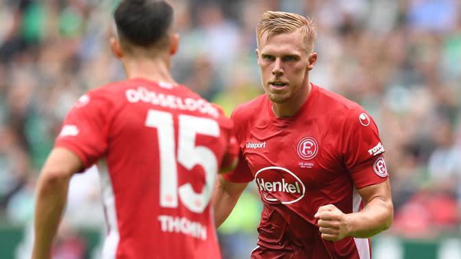 5. Rouwen Hennings (Fortuna dusseldorf) - 11 gol. (AFP/Carmen Jaspersen/dpa)