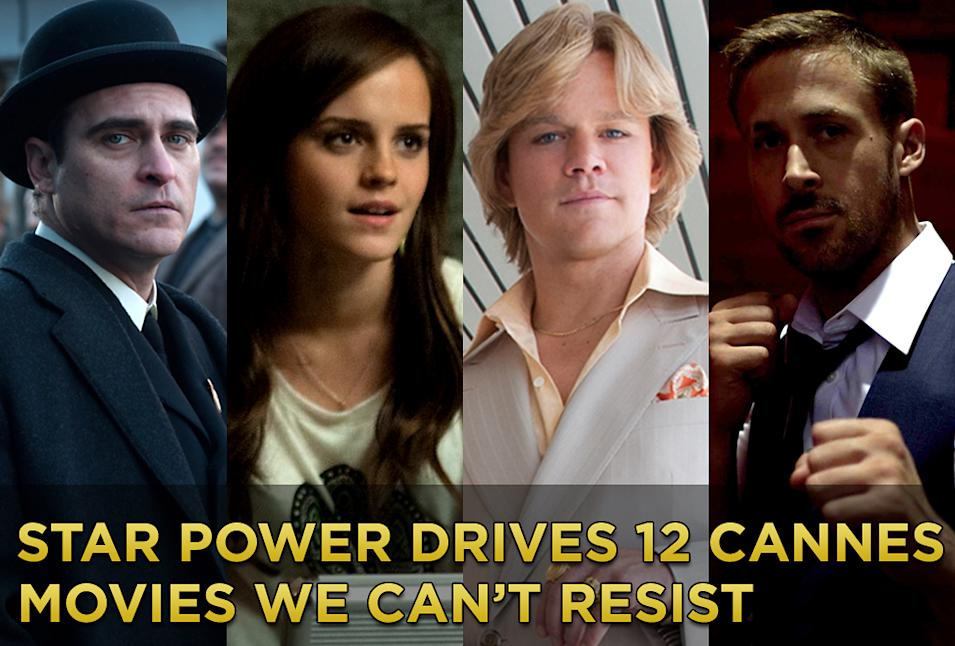 Star Power Drives 12 Cannes Movies We Can't Resist