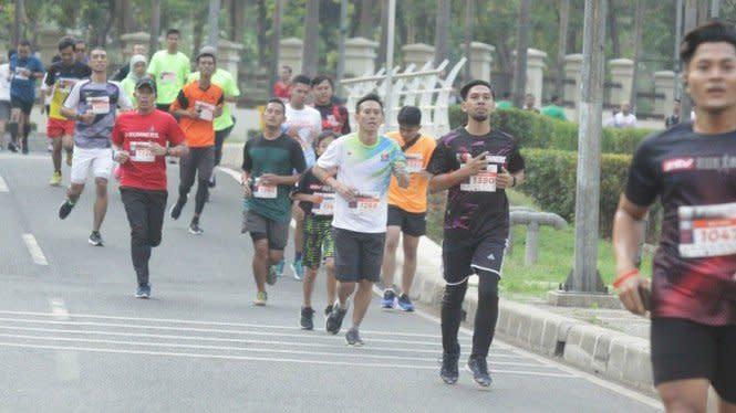 Porseni Bakrie 2019 Ditutup Ajang Lari 5K