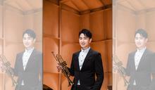 從小就是管樂社社長 陳謙文吹小號站上城市舞台