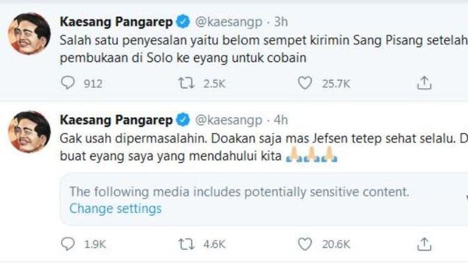 tangkapan layar Twitter