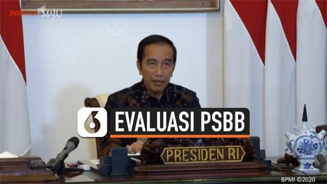 VIDEO: Evaluasi PSBB, Jokowi Sebut Ada Daerah yang Tidak Berubah