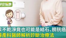 醫師解析:解尿不乾淨,可能是膀胱出問題?