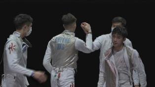 男子花劍團體賽八強 港隊不敵俄羅斯奧委會總排名第七