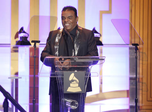 Ronald Isley attends The 56th Annual GRAMMY Awards - Special Merit Awards Ceremony, on Saturday, Jan. 25, 2014 in Los Angeles. (Photo by Todd Williamson/Invision/AP)