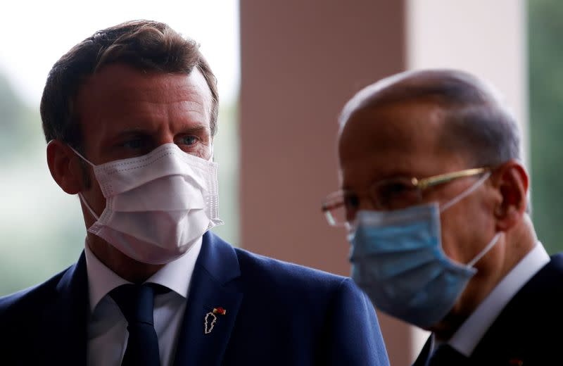 France's Macron calls Lebanese leaders over cabinet plans
