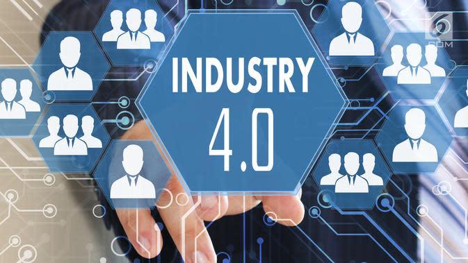 Ilustrasi industri 4.0 (iStockPhoto)