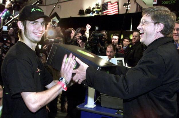 The History of the Xbox launch bill gates