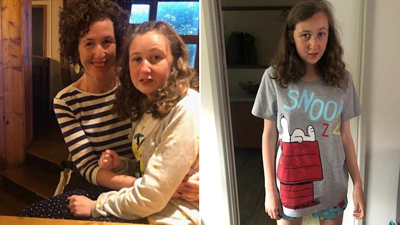 Nora Quoirin (left with her mother and right in a Snoopy shirt) went missing on a family holiday on August 4.