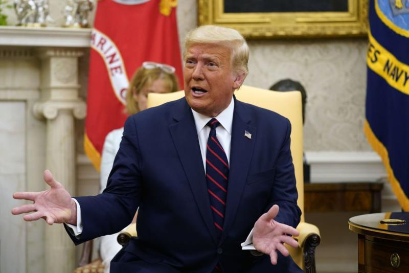 CEK FAKTA AP: Klaim tak berdasar Trump tentang 'negara di dalam negara' di FDA