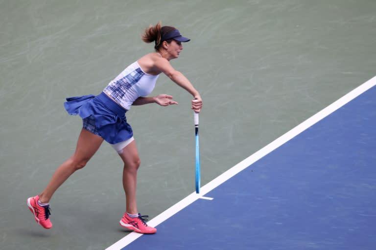 Pironkova downs Cornet to reach US Open last eight