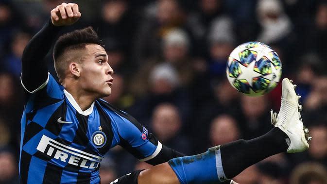 7. Lautaro Martinez (Inter Milan)- 5 gol.(AFP/Isabella Bonotto)