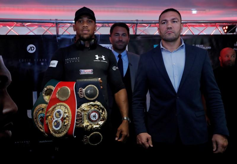 Anthony Joshua and Kubrat Pulev Press Conference