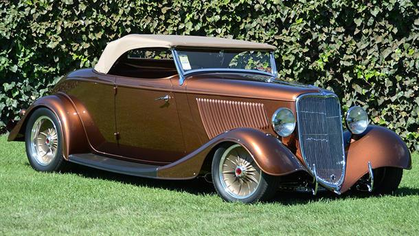 '33 Ford wins America's most beautiful street rod title