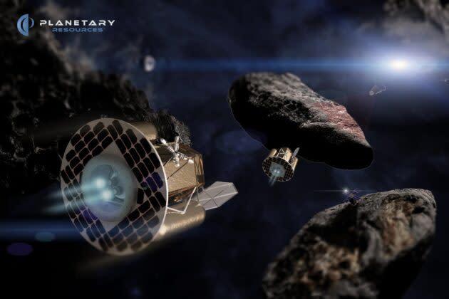 Asteroid prospector