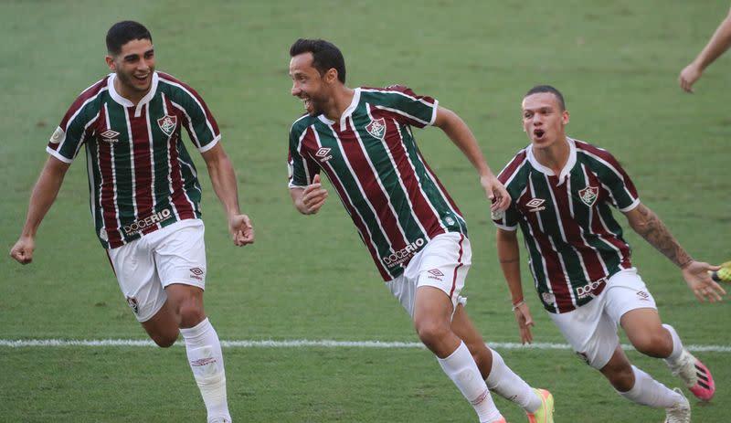 Nene brace gives Fluminense 2-1 win over Corinthians