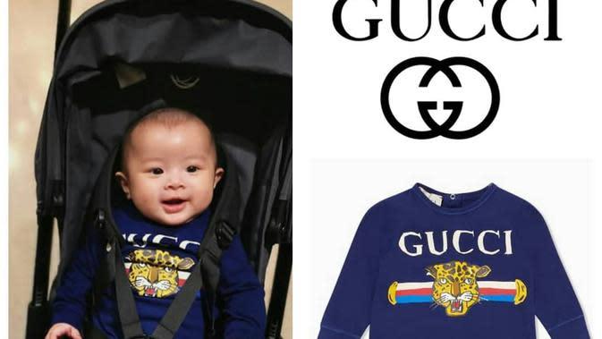 Anak seleb yang memiliki barang dengan harga fantastis. (sumber: Instagram @fashion.sandradewi)