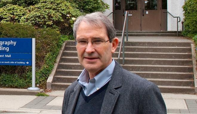 "UBC professor David Ley, author of the 2010 book ""Millionaire Migrants"". Photo: SCMP"