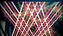 烏來打卡新亮點!泰雅族傳統編織構築夢幻藝術廊道
