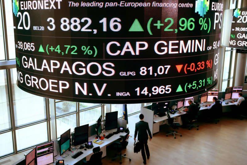 """Saham Prancis """"rebound,"""" Indeks CAC 40 terangkat 0,20 persen"""