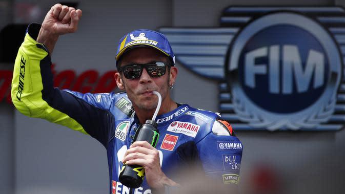 Valentino Rossi (AP/Eric Alonso)