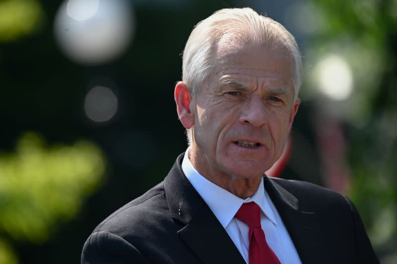 Trump executive order to boost U.S. drug manufacturing - Navarro