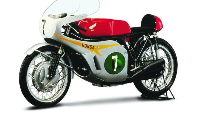 Honda Ternyata Pernah Bikin Motor 6 Silinder