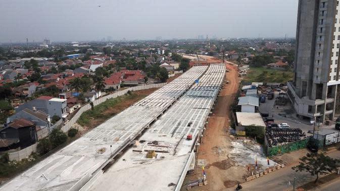 Proyek Tol Jakarta Outer Ring Road 2 (JORR 2) ditargetkan bakal selesai dan beroperasi 2019. (Dok Kementerian PUPR).