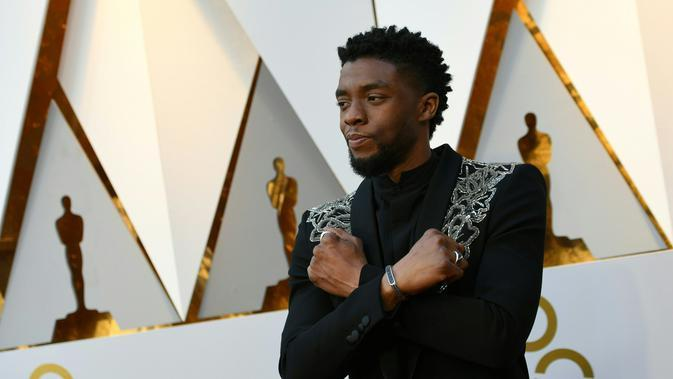 Aktor Chadwick Boseman. (AFP Photo/Valerie Macon)