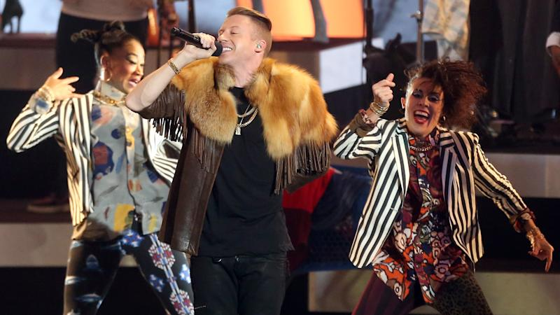 Macklemore & Ryan Lewis, Robin Thicke Get Audience Moving at Grammy Nominations Concert