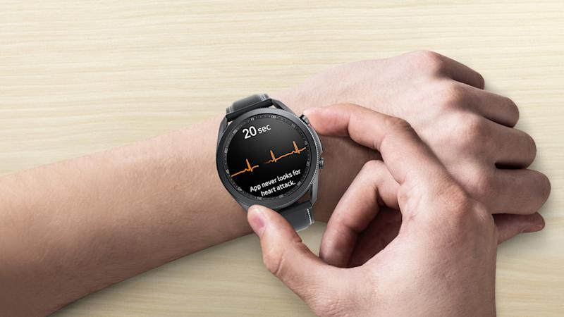 Samsung brings FDA-approved ECG monitoring to the Galaxy Watch 3
